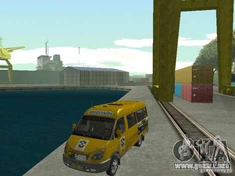 Taxi gacela para GTA San Andreas