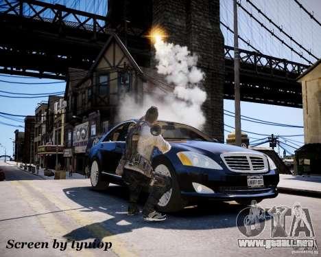 Modern Warfare 3 Soap Africa para GTA 4 quinta pantalla