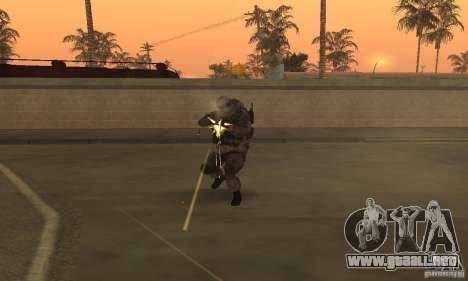 Soldados de la CoD MW para GTA San Andreas tercera pantalla
