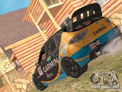 Subaru Impreza WRX STI N14 Gymkhana para las ruedas de GTA San Andreas