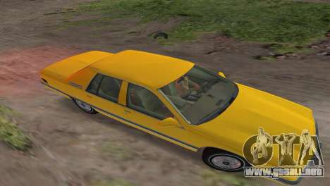 Buick Roadmaster 1994 para GTA Vice City vista posterior
