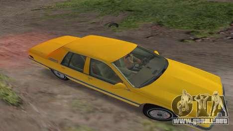 Buick Roadmaster 1994 para GTA Vice City vista posterior
