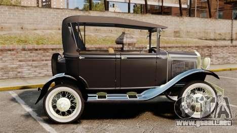 Ford Model T 1924 para GTA 4 left