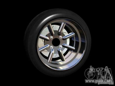 Old School Rims Pack para GTA San Andreas quinta pantalla