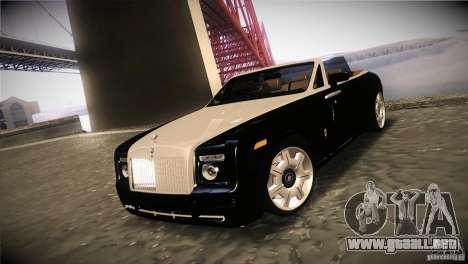 Rolls Royce Phantom Drophead Coupe 2007 V1.0 para GTA San Andreas