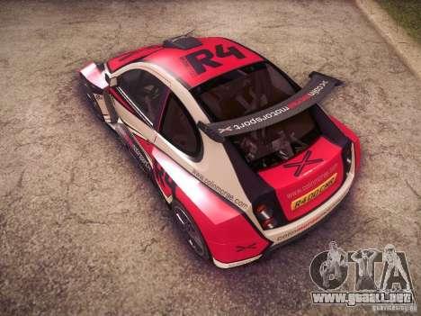 Colin McRae R4 para la vista superior GTA San Andreas
