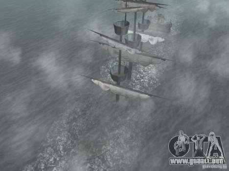 Barco pirata para GTA San Andreas sucesivamente de pantalla