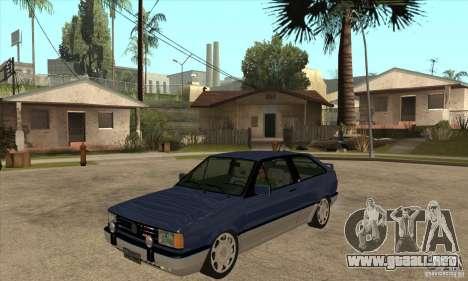 VW Gol GTI 1989 para GTA San Andreas