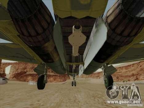 T-50 Pak Fa para el motor de GTA San Andreas