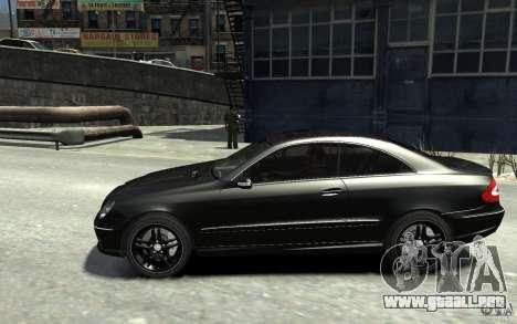 Mercedes-Benz CLK55 AMG 2003 v1 para GTA 4 left