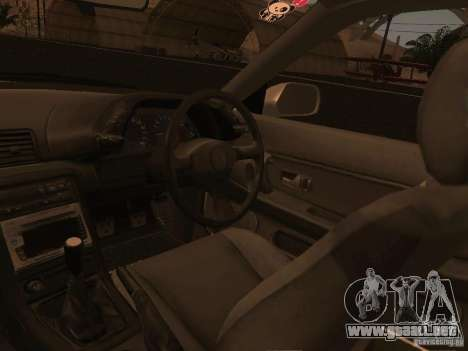 Nissan Skyline GTS R32 JDM para vista inferior GTA San Andreas