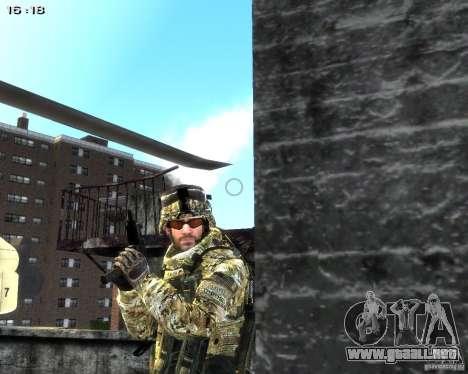 Micro Uzi para GTA 4 quinta pantalla