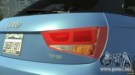Audi A1 para GTA 4 vista interior