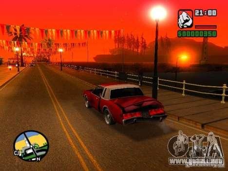 Timecyc BETA 2.0 para GTA San Andreas tercera pantalla