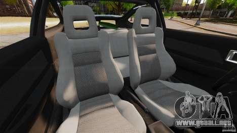 Honda CRX 1991 para GTA 4 vista interior