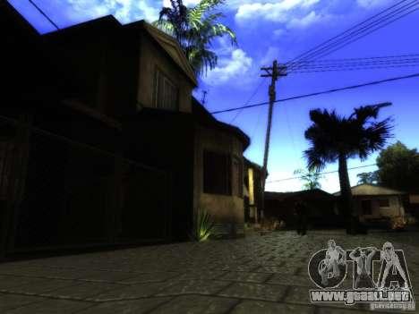 ENB Series Project BRP para GTA San Andreas sexta pantalla