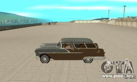 Pontiac Safari 1956 para GTA San Andreas left