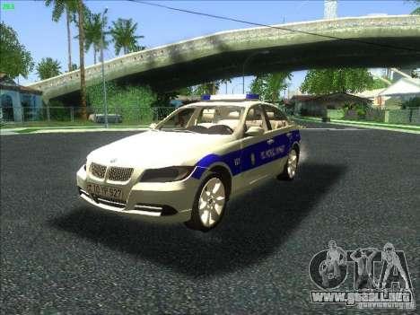 BMW 330i YPX para GTA San Andreas
