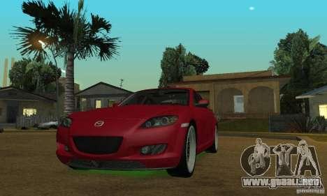Las luces de neón verdes para GTA San Andreas tercera pantalla