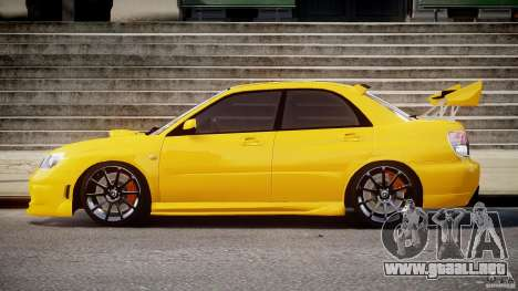 Subaru Impreza STI para GTA 4 left