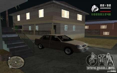 LADA priora luz tuning para la visión correcta GTA San Andreas