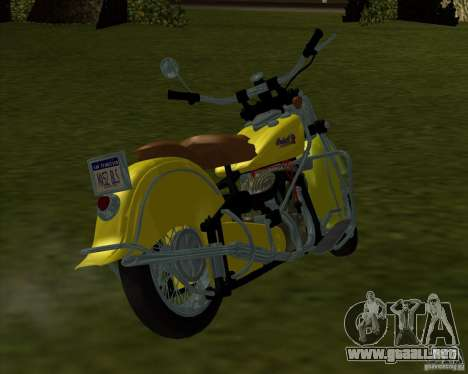 Indian Chief 1948 para GTA San Andreas left
