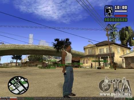 Pak armas para GTA San Andreas sexta pantalla