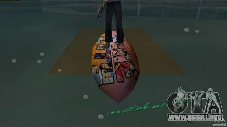 Surfboard 1 para GTA Vice City visión correcta