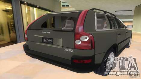 Volvo XC90 para GTA Vice City left