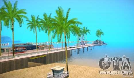 ENBSeries for SA-MP para GTA San Andreas tercera pantalla