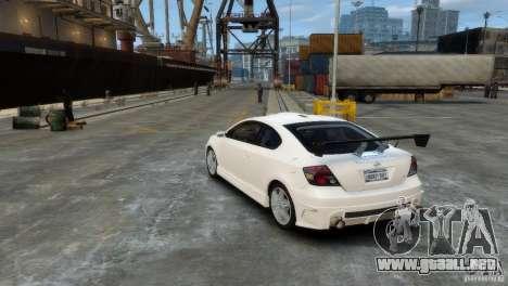 Toyota Scion para GTA 4 visión correcta