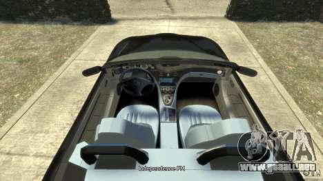 Maserati Spyder Cambiocorsa para GTA 4 visión correcta