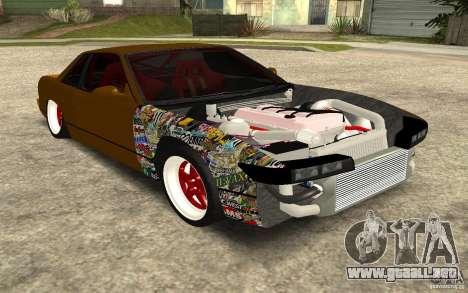 Nissan Silvia S13 Crash Construction para GTA San Andreas