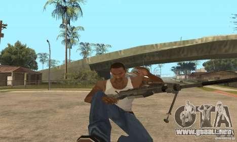 Intervenšn de Call Of Duty Modern Warfare 2 para GTA San Andreas octavo de pantalla