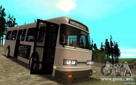 NFS Undercover Bus para visión interna GTA San Andreas