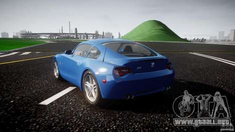 BMW Z4 Coupe v1.0 para GTA 4 vista lateral