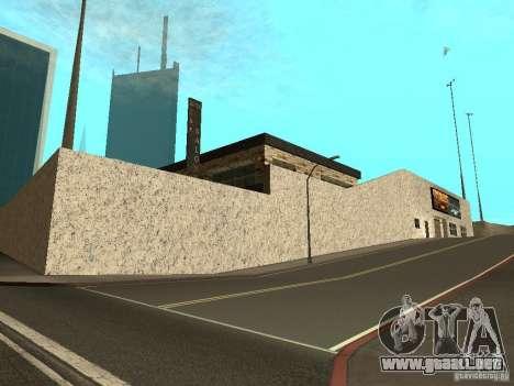 San Fierro Car Salon para GTA San Andreas segunda pantalla