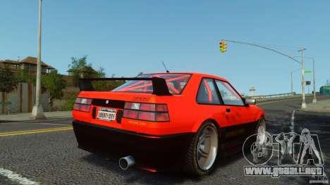 Futo GTRS para GTA 4 left