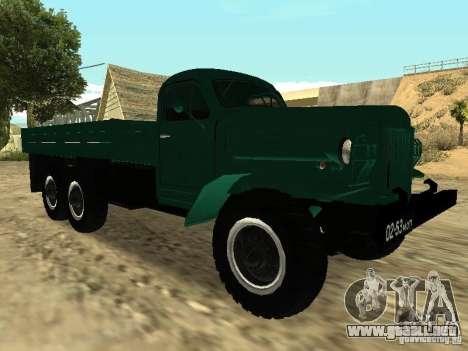 ZIL 157 para GTA San Andreas left