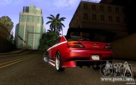 Nissan Silvia S15 Drift Style para la visión correcta GTA San Andreas