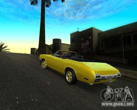 EON Stallion GT-A para la visión correcta GTA San Andreas