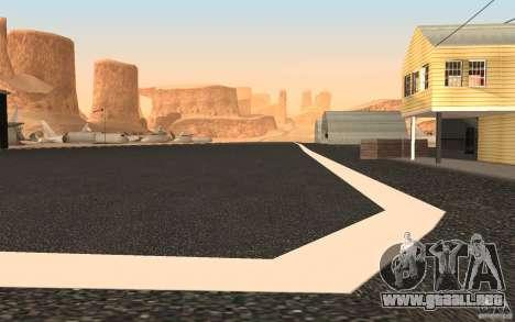 New Verdant Meadows Airstrip para GTA San Andreas tercera pantalla