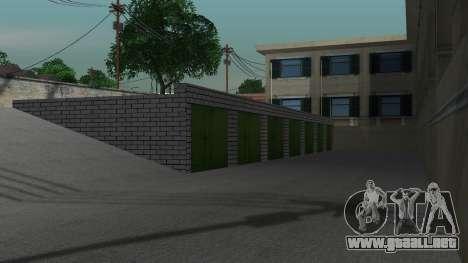 Estructura de garajes y edificios en SF para GTA San Andreas sexta pantalla