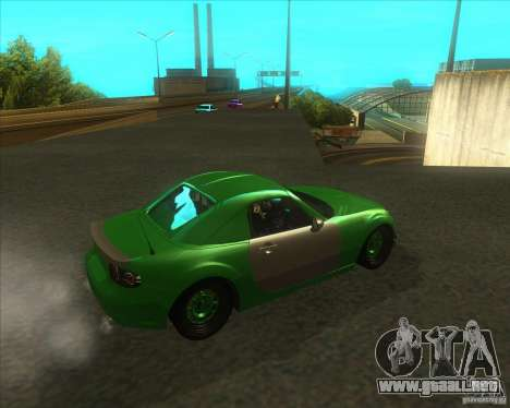Mazda Miata MX-5 Konguard 2007 para la visión correcta GTA San Andreas