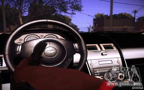 Aston Martin DBS para visión interna GTA San Andreas