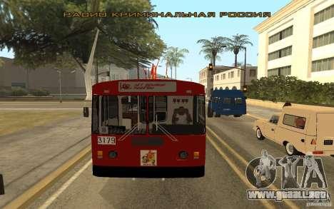 ZiU 682 para vista lateral GTA San Andreas