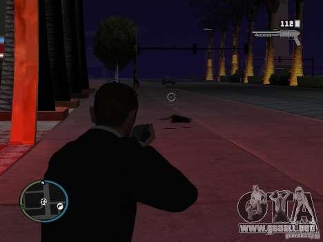 Objetivo cercano para GTA San Andreas tercera pantalla