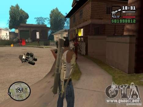 Nueva vista para GTA San Andreas tercera pantalla
