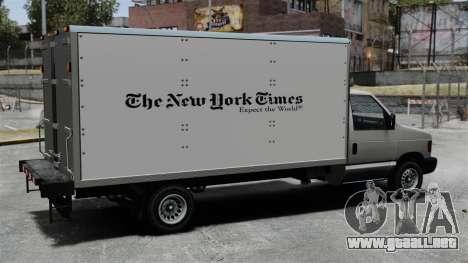 El nuevo anuncio para camiones Steed para GTA 4 visión correcta