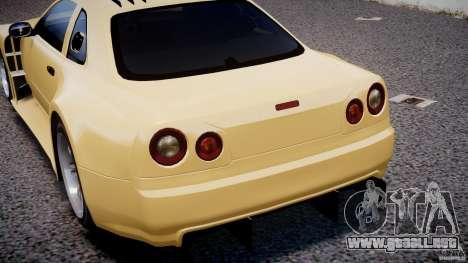 Nissan Skyline R34 v1.0 para GTA motor 4